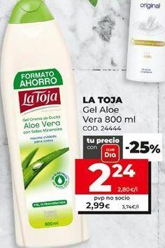 Oferta de Gel de baño La Toja por 2,24€