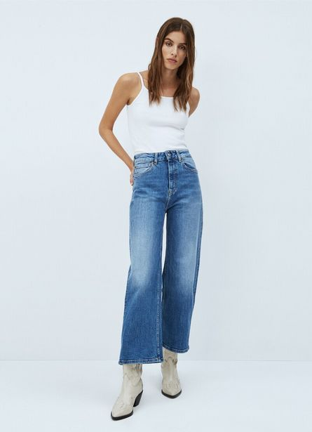 Oferta de LEXA SKY HIGH WIDE FIT HIGH WAIST JEANS por 89,9€