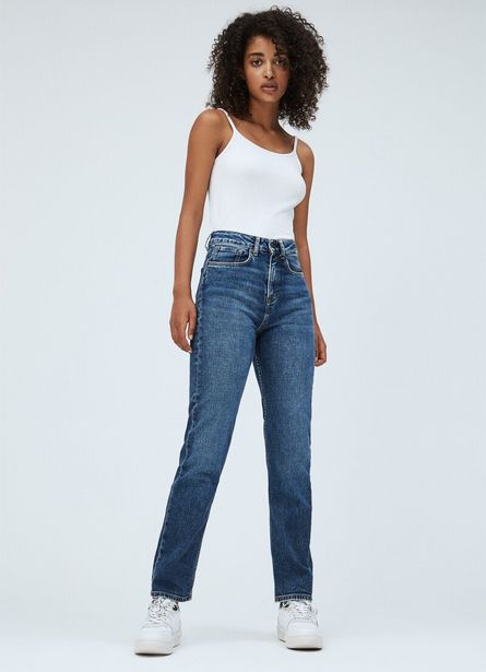 Oferta de LEXI SKY STRAIGHT FIT HIGH WAIST JEANS por 89,9€