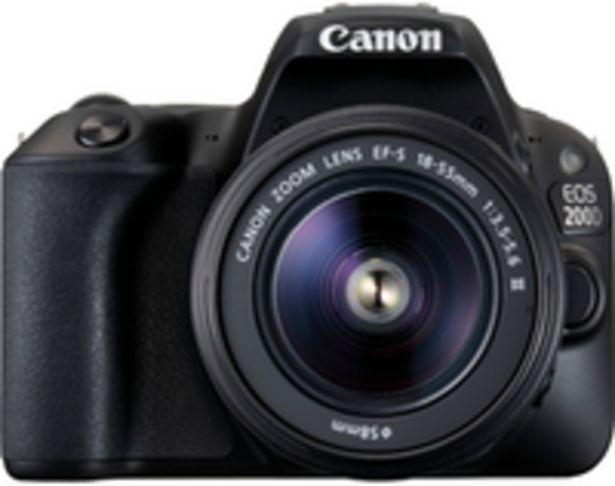 Oferta de Canon EOS 200D + EF-S 18-55mm f/3,5-5,6 III por 499,99€