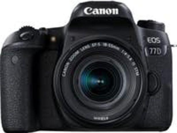 Oferta de Canon EOS 77D + EF-S 18-55mm f/4-5,6 IS STM por 679,99€