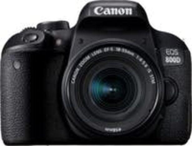 Oferta de Canon EOS 800D + EF-S 18-55mm f/4-5.6 IS STM por 678,63€