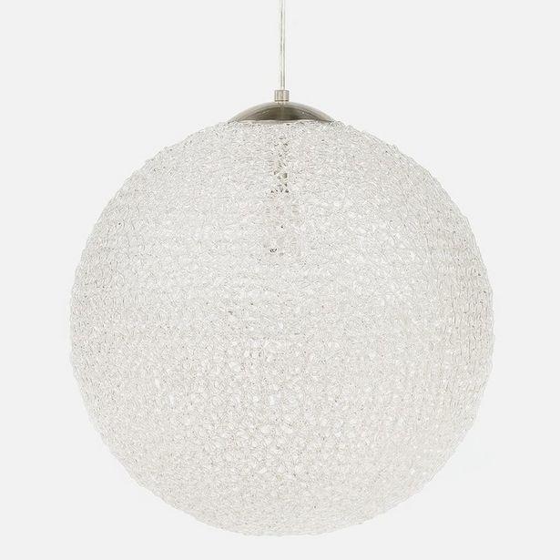 Oferta de Lámpara de Techo Bola de Alambre Transparente por 69,99€