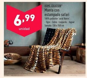 Oferta de Manta por 6,99€