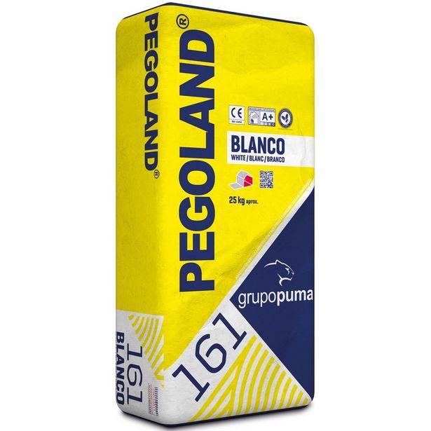 Oferta de CEMENTO COLA PEGOLAND BLANCO 25 KG por 3,85€