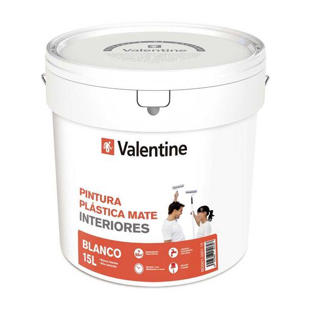 Oferta de PINTURA INTERIOR BLANCA VALENTINE 15L por 23,95€