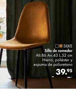 Oferta de Silla de comedor por 39,95€
