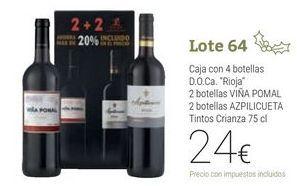 Oferta de Lote 64 por 24€