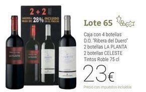Oferta de Lote 65 por 23€