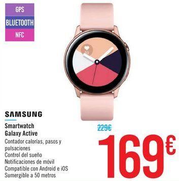 Oferta de Smartwatch Galaxy Active SAMSUNG por 169€
