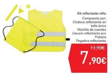 Oferta de Kit reflectante niño por 7,9€