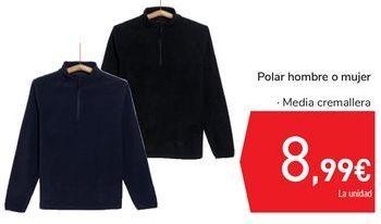 Oferta de Polar hombre o mujer por 8,99€