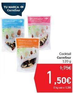Oferta de Cocktail Carrefour  por 1,5€