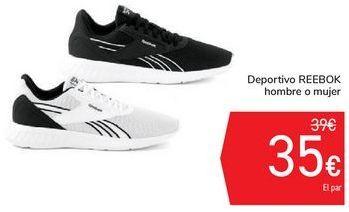 Oferta de Deportivo REEBOK hombre o mujer por 35€