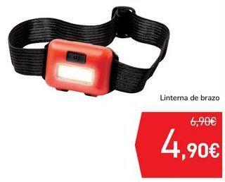 Oferta de Linterna de brazo  por 4,9€