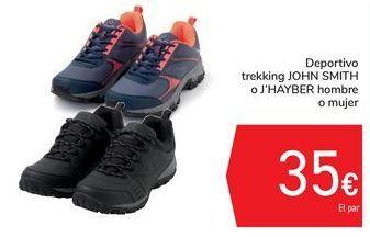 Oferta de Deportivo trekking JOHN  SMITH o J'HAYBER Hombre o mujer por 35€