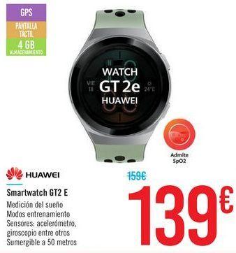 Oferta de Smartwatch GT2 E HUAWEI por 139€