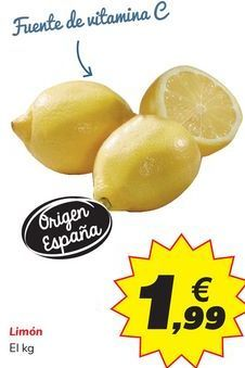 Oferta de Limón  por 1,99€