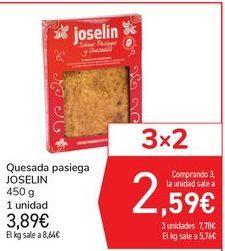 Oferta de Quesada pasiega JOSELIN por 3,89€