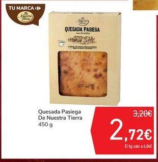 Oferta de Quesada Pasiega De Nuestra Tierra por 2,72€