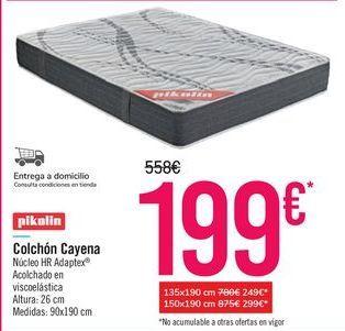 Oferta de Colchón Cayena por 199€