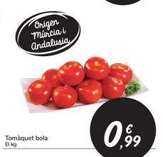 Oferta de Tomate bola por 0,99€