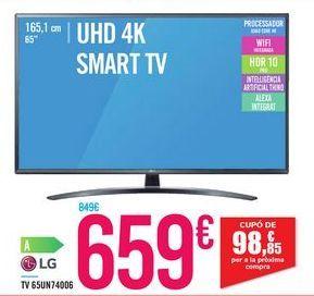 Oferta de TV 65UN74006 por 659€