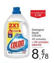Oferta de Detergente líquido COLON por 8,78€