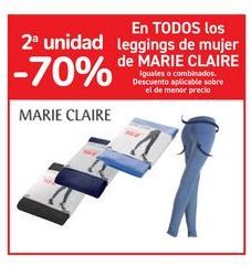Oferta de En TODOS los leggings de mujer de MARIE CLAIRE por