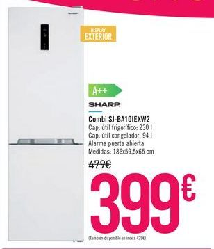 Oferta de Combi SJ-BA10IEXW2 por 399€
