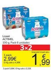 Oferta de Lcasei ACTIMEL por 2,99€