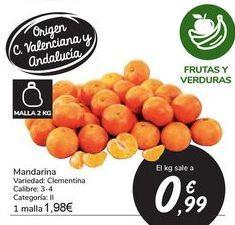 Oferta de Mandarina por 0,99€