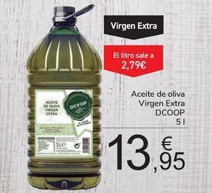 Oferta de Aceite de oliva Virgen Extra DCOOP por 13,95€