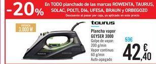 Oferta de Plancha vapor GEYSER 3000 por 42,4€