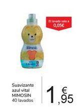 Oferta de Suavizante azul vital MIMOSIN por 1,95€