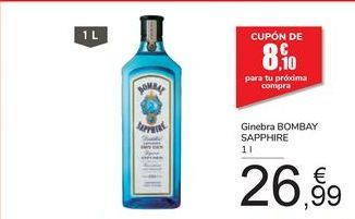 Oferta de Ginebra BOMBAY SAPPHIRE por 26,99€