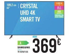 Oferta de  TV 43TU7125 por 369€
