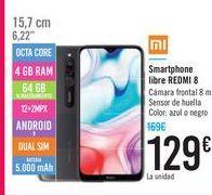 Oferta de Smartphone libre REDMI 8 por 129€