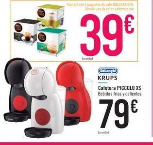 Oferta de Cafetera Piccolo XS  por 79€