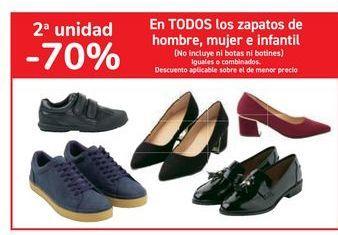 Oferta de En TODOS los zapatos de hombre, mujer e infantil por