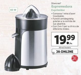 Oferta de Exprimidor por 19,99€