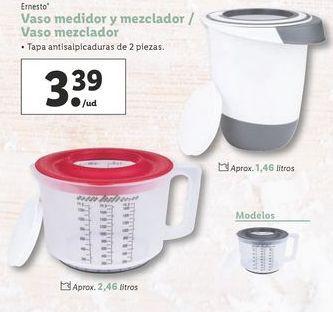 Oferta de Vaso medidor y mezclador / Vaso mezclador por 3,39€