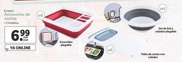 Oferta de Accesorios de cocina por 6,99€
