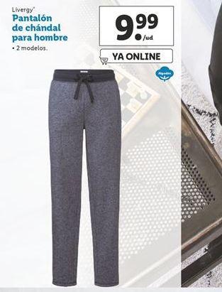 Oferta de Pantalón de chándal para hombre Livergy por 9,99€