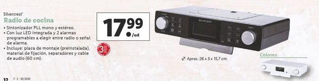 Oferta de Radio de cocina por 17,99€