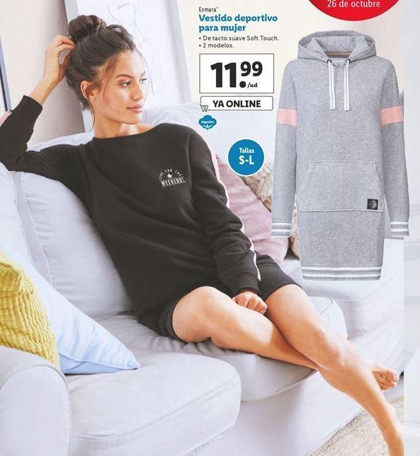 Oferta de Vestido deportivo para mujer esmara por 11,99€