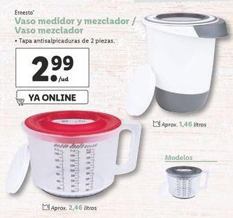 Oferta de Vaso medidor y mezclador / Vaso mezclador por 2,99€
