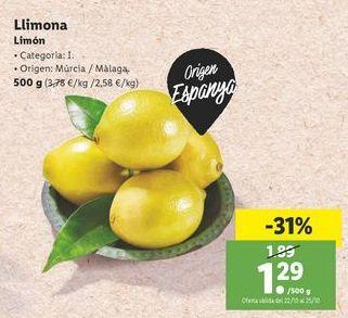 Oferta de Limón por 1,29€