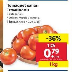Oferta de Tomate canario por 0,79€