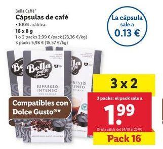 Oferta de Cápsulas de café por 2,99€
